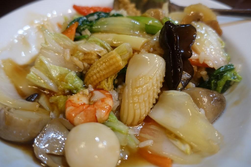 中華丼具材