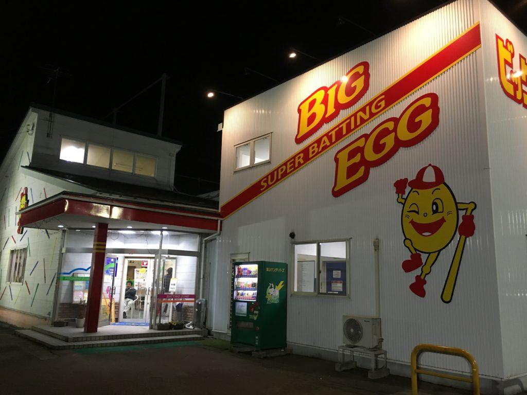 バッティングセンター(BIG EGG)