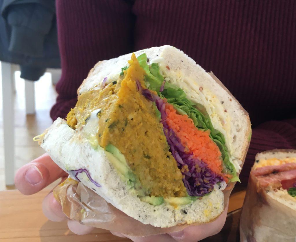 自家製パンのサンドイッチ(その2)