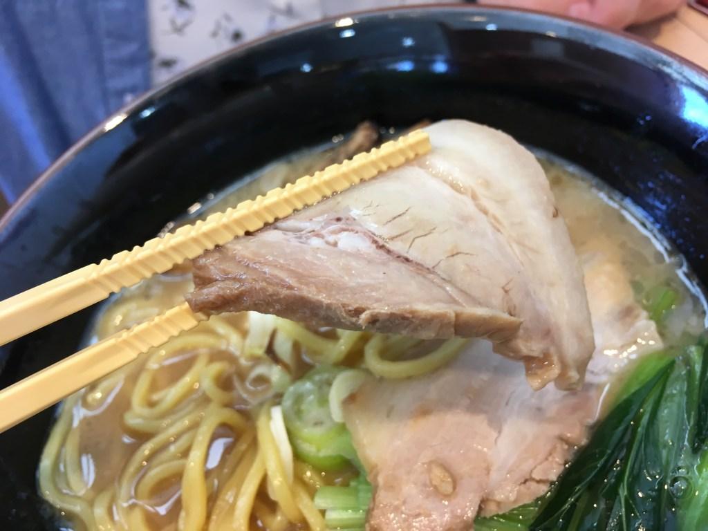 チャーシュー(豚骨醤油ラーメン)