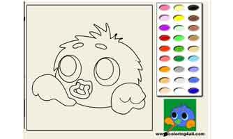 Jubjub: Раскраски для малышей