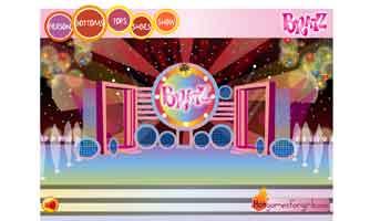 Модное шоу Братц онлайн игра для девочек