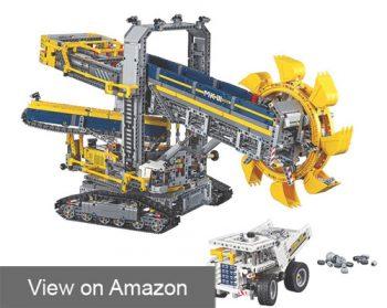 Lego Technic Bucket Wheel Excavator review