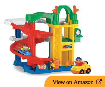 Fisher-Price Little People Racin' Ramps Garage Review