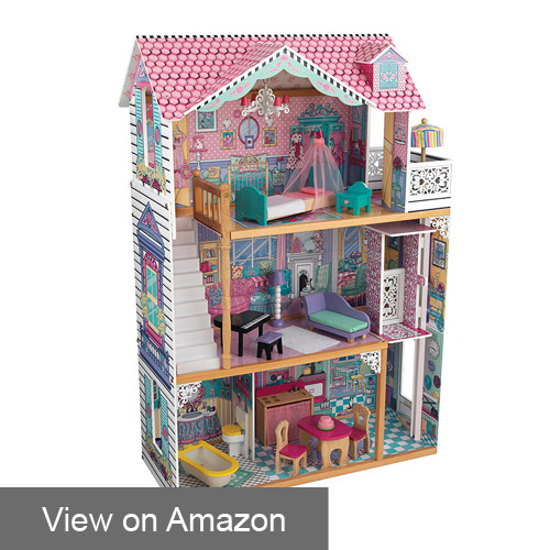 best wooden dollhouses for 3-7 years old girls (apr. 2018) - buyer's