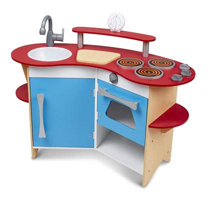 Melissa & Doug Cook's Corner Wooden Play Kitchen Review
