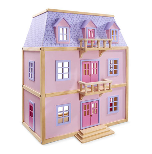 Melissa & Doug Multi-Level Solid Wood Dollhouse Review