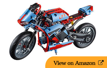 Lego Street Motorcycle Review