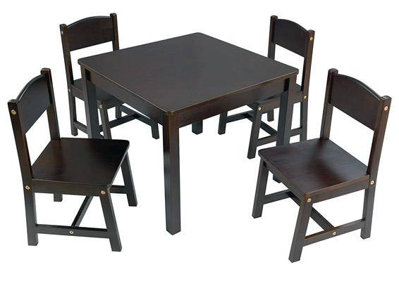 KidKraft Farmhouse Table and 4 Chair Set Review