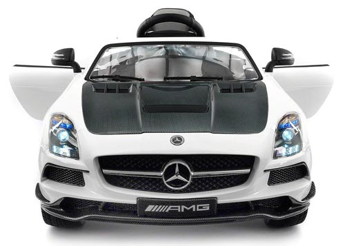 Carbon White SLS AMG Mercedes Benz Car Review