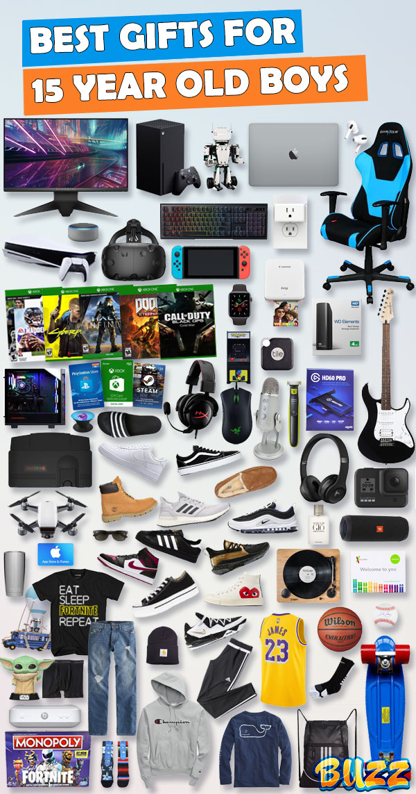 Gifts For 15 Year Old Boys Gift Ideas For 2021
