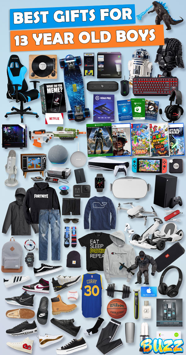 Gifts For 13 Year Old Boys Best Gift Ideas For 2020