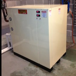 white powder coated unit 250x250 - Product Information - Geothermal Heat Pumps