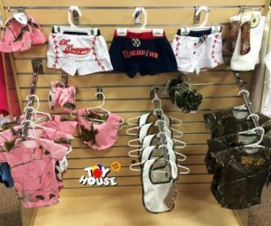 Toy House and Baby Too, baby store, baby clothes, camouflage