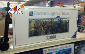 Toy House and Baby Too, Ravensburger, Jigsaw Puzzle, toy store