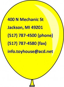 Toy House Contact Info