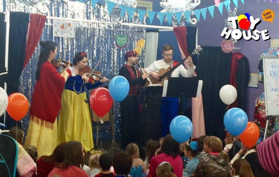 JSO Disney Princess Day Quartet