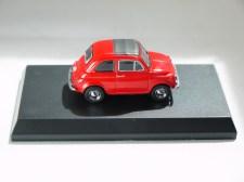 Kyosho 1-64 FIAT Minicar Col - 500 F Red - 05