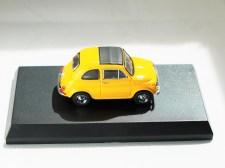 Kyosho 1-64 FIAT Minicar Col - 500 F Yellow - 05