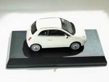 Kyosho 1-64 FIAT Minicar Col - 500 White - 05