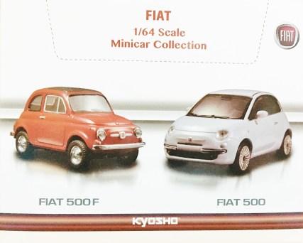 Kyosho 1-64 Minicar Col FIAT 500F & 500 Full Box 8pc - 2