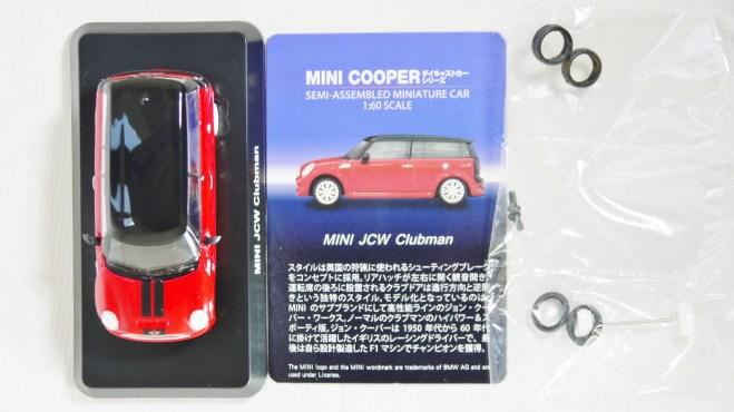 1-60 Kyosho MINI COOPER SEMI-ASSEMBLED JCW Clubman Red 11