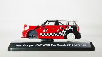 1-60 Kyosho MINI COOPER SEMI-ASSEMBLED JCW WRC Pre March 2012 Liveries 01