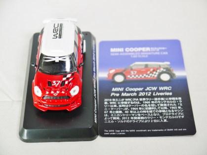 1-60 Kyosho MINI COOPER SEMI-ASSEMBLED JCW WRC Pre March 2012 Liveries 10