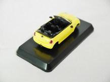 1-60 Kyosho MINI COOPER SEMI-ASSEMBLED S Cabrio YLW 06