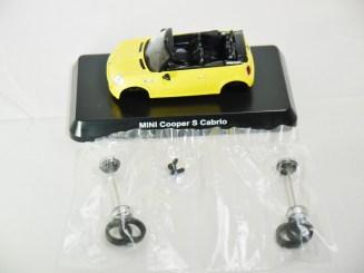 1-60 Kyosho MINI COOPER SEMI-ASSEMBLED S Cabrio YLW 08