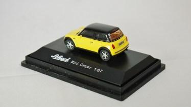 Schuco 1-87 Mini Copper YLW 07