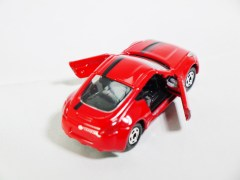 Tomica Assembly Factory Series 3 Elasto NISSAN Fairlady Z Z34 - RED Body & BLK Inter - 06