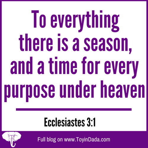 ecclesiastes 3:1 seasons and times bible verse