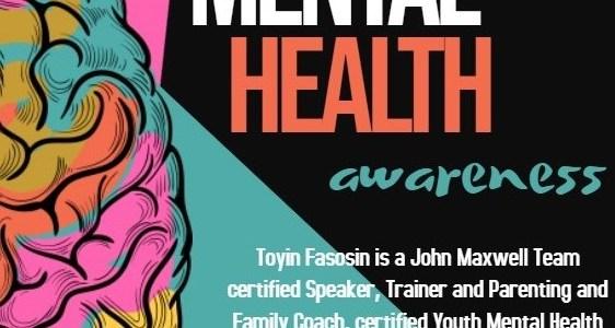 Register for the Mental Health Awareness Zoom meeting