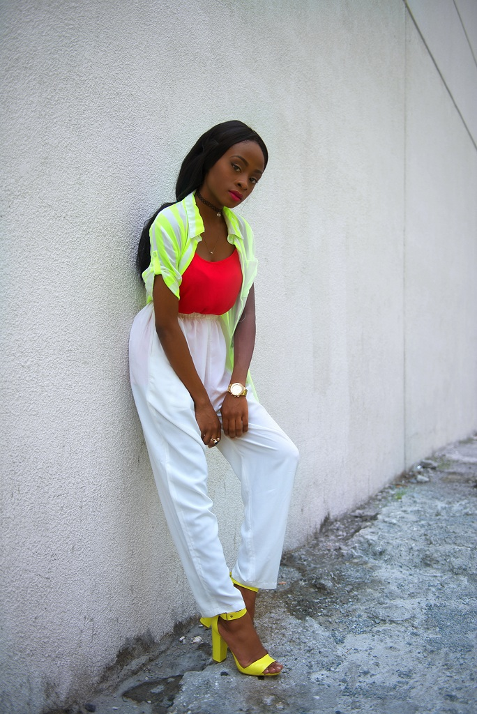 NEON – WHAT I WORE