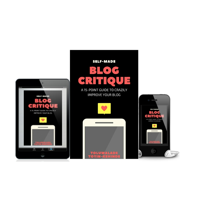 free blog critique ebook
