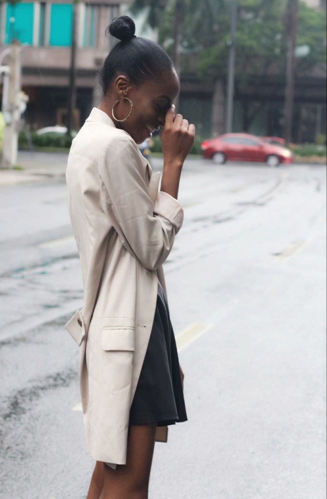blazer dress how to wear