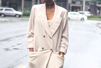 blazer dress outfit inspiration