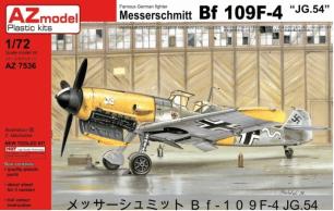 """MESSERSCHMITT BF-109F-4 """"JG.54"""" – AZ7536"""