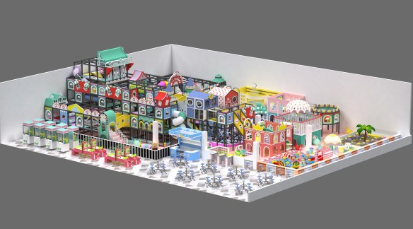 commercial indoor playground equipment