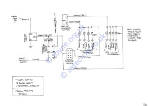 Paul's Kit Car Pages  Tiger Cat 12 Fuse Loom Wiring Diagrams