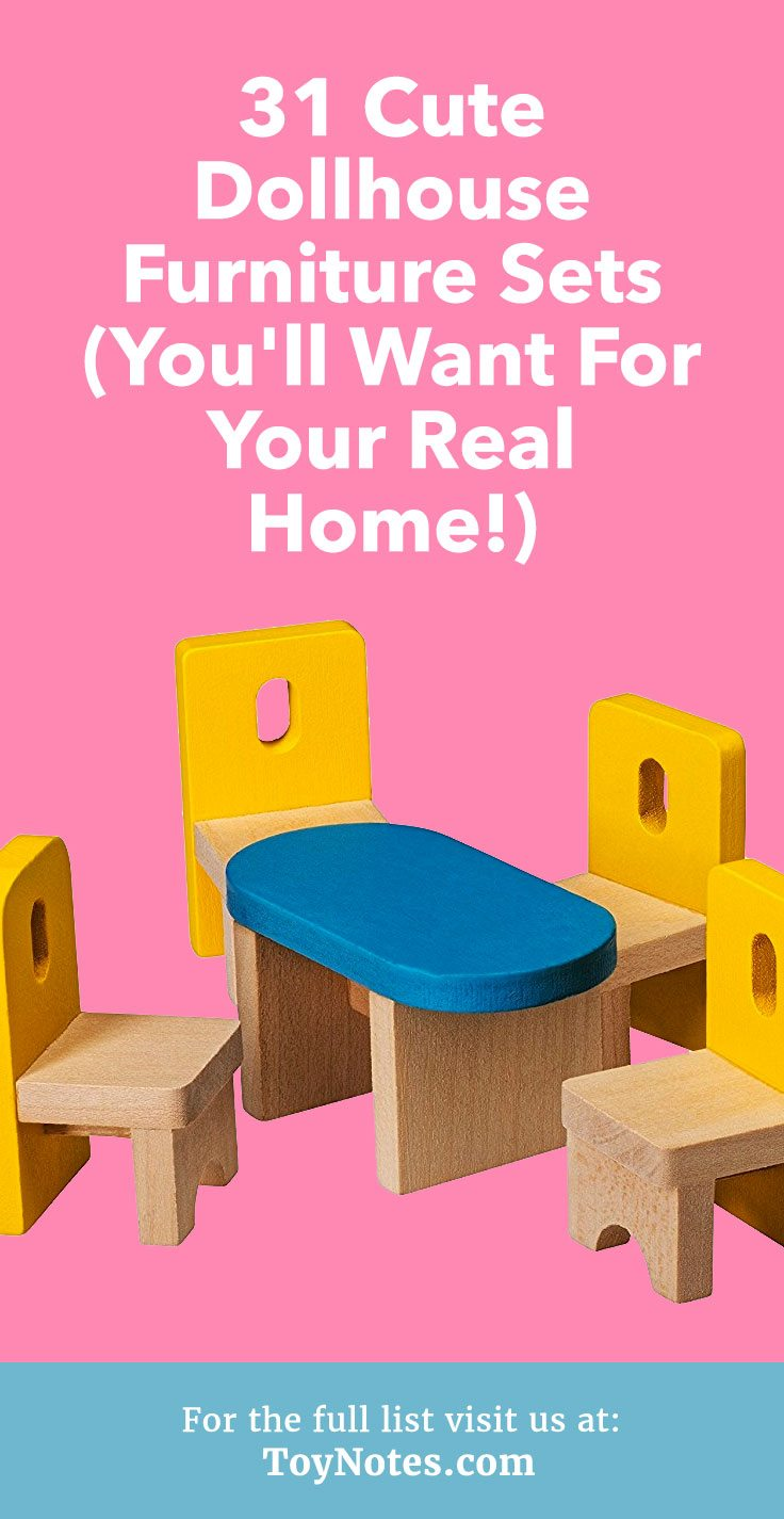 31 Cute Dollhouse Furniture Sets You Ll Want For Your Real
