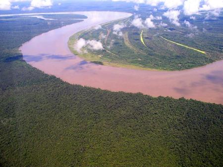 アマゾン川 画像調整1
