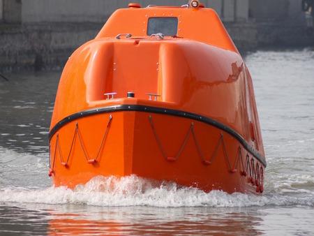 救命艇シェルター初期モデル1