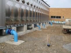 サスタンク内部採用でコスト削減/埼玉県ときがわ町配水池 マクロセル腐食対策 絶縁