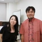 心理療法家 矢野惣一氏と藤原カウンセラー