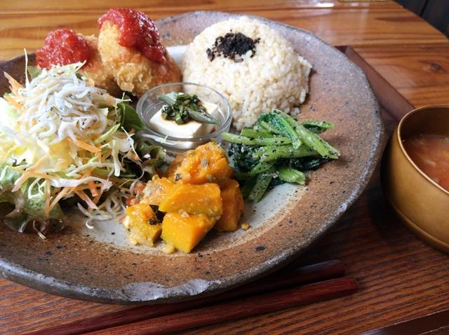 玄米ごはん定食