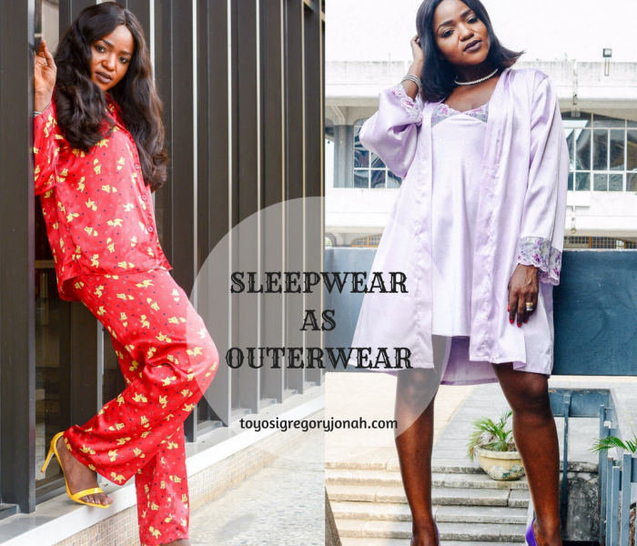 SLEEPWEAR AS OUTERWEAR : PYJAMA FASHION