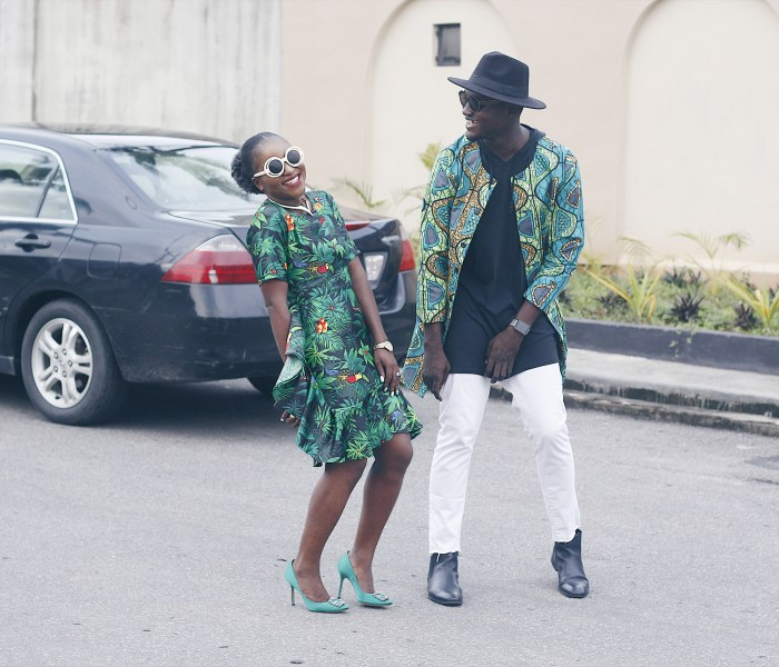 BLOGGER COLLAB – GOING GREEN ft GODWINWI