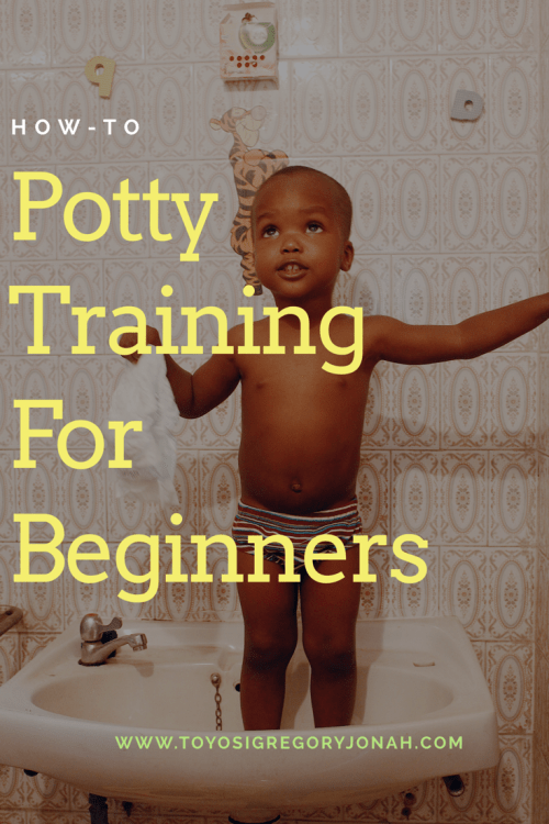 potty training for beginners